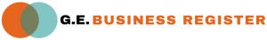 G E Business Register logo