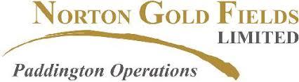 Norton Goldfields Paddington Gold logo